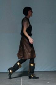 Lola Cuello on the runway Fall 2009 Barceona