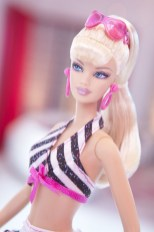 A Close-Up Image of the New Bathing Suit Barbie Doll