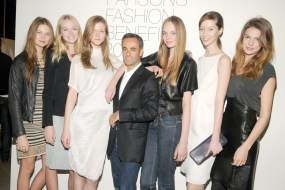 Francisco Costa and models