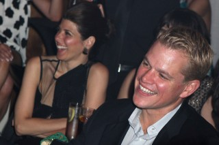 Matt Damon and Marisa Tomei