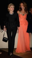 Sharon Stone and Heather Kerzner