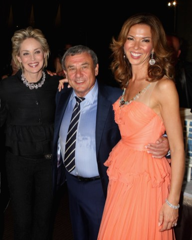 Sharon Stone, Heather Kerzner and Sol Kerzner