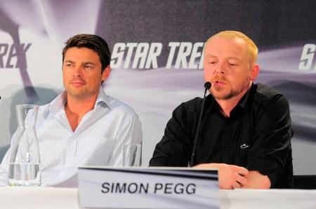 Karl Urban, Simon Pegg