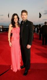 Eric Bana and his wife Rebecca Gleeson
