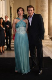 Nathalie Bulgari and Jason Lewis