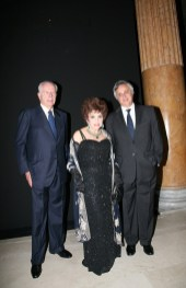 Paolo Bulgari and Gina Lollobrigida