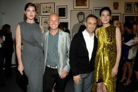 Hilary Rhoda, Italo Zucchelli, Francisco Costa, Michelle Monaghan