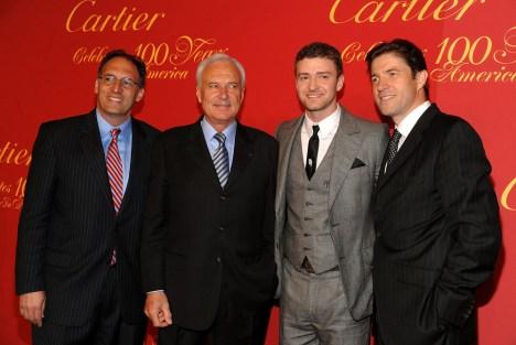 Alan Khazel; Bernard Fornas; Justin Timberlake; Frederic de Narp
