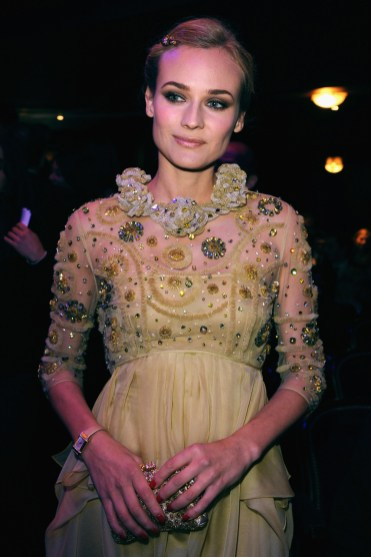 Diane Kruger, ambassador of Jaeger-LeCoultre, attends the show at the Cesar Film Awards