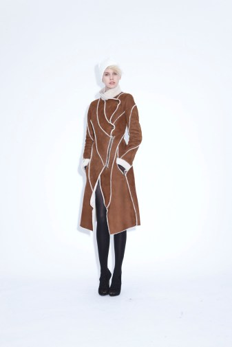 Coat Taiga Sheep skin