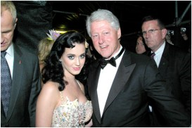 Katy Perry and Pres Bill Clinton