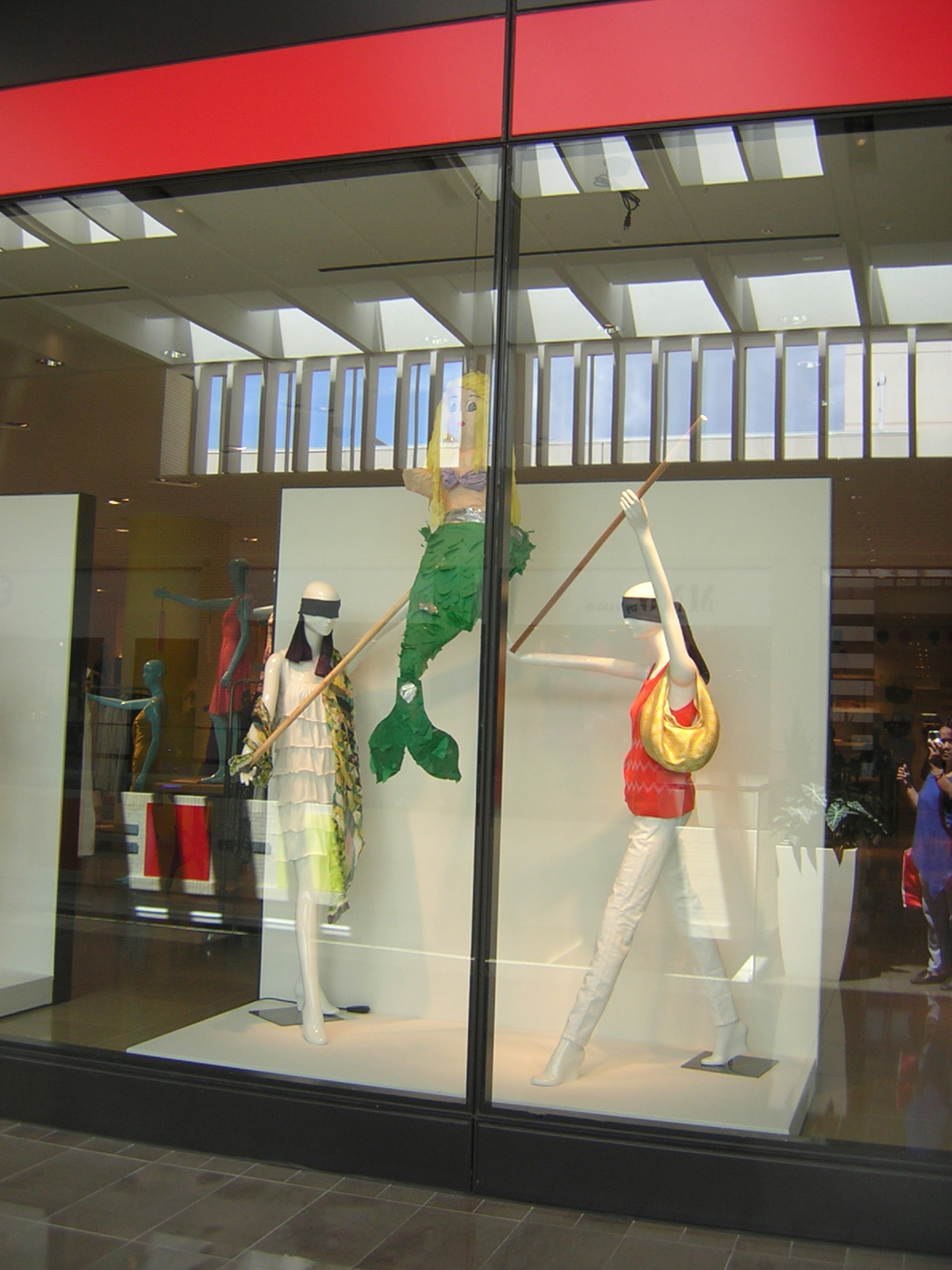 Barney clothing store