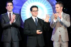 Zachary Quinto; J. J. Abrams; Chris Pine