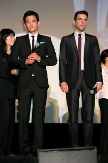 John Cho; Zachary Quinto