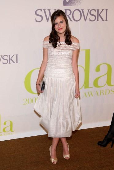 Tallulah Willis in Calvin Klein