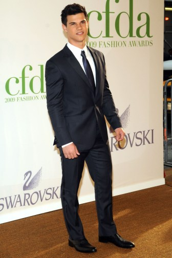 Taylor Lautner in Calvin Klein