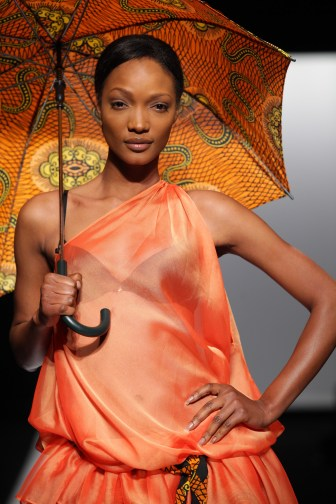Mustafa Hassanali at the Arise Africa Fashion Week 2009