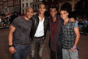 JLS : Transformers Premiere in London