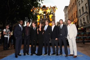 Cast of Transformers: Transformers Premiere in London