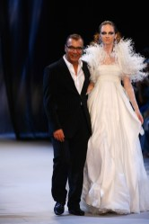 Georges Chakra on the runway Haute Couture Fall 2009 Paris