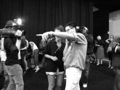 Brian Reyes Spring 2010 Backstage