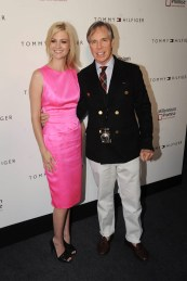 January Jones & Tommy Hilfiger