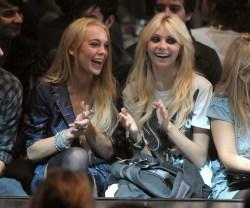 Lindsay Lohan and Taylor Momsen