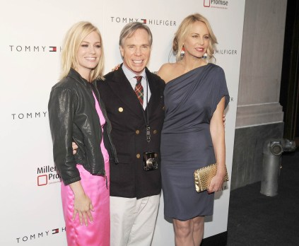 January Jones, Tommy Hilfiger, Dee Ocleppo