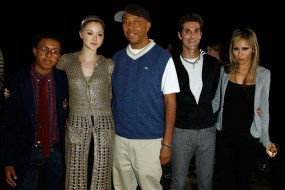 Diggy Simmons; Devon Aoki; Russell Simmons; Perry Farrell; Etty