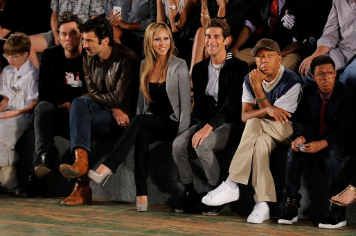 Rufus Wainwright; Etty Lau Farrell; Perry Farrell; Russell Simmons; Diggy Simmons