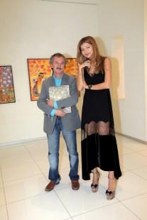 Gulnara Karimova and Akmal Nur