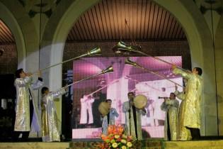 Uzbec traditionnal musicians