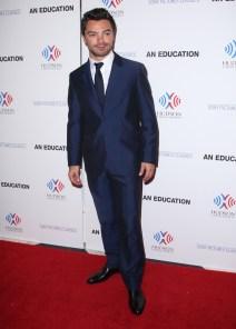 Dominic Cooper in Calvin Klein