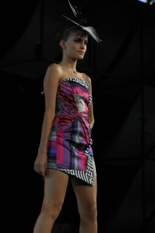 Andre Lima at Oi Fashion Rocks