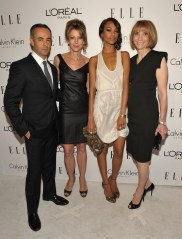 Francisco Costa, Carol Smith, Zoe Saldana, Roberta Myers