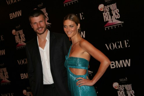 Rodrigo Hilbert and Fernanda Lima