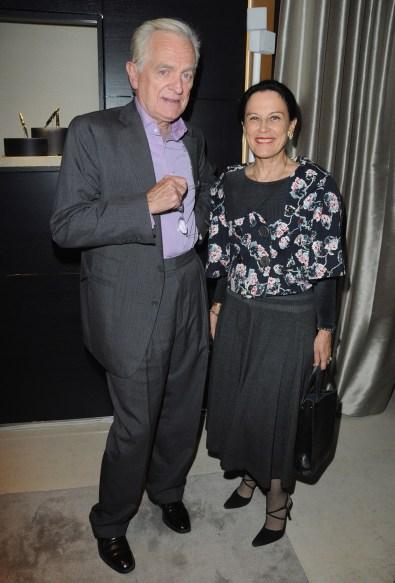 Philippe Labro and Irene Frain