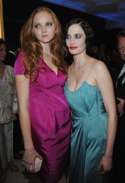 Lily Cole and Eva Green