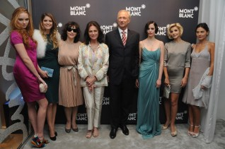Lily Cole, AliceTaglioni, Juliette Binoche, Jacqueline Bisset, Lutz Bethge, Eva Green, Clotilde Courau and Virginie Ledoyen