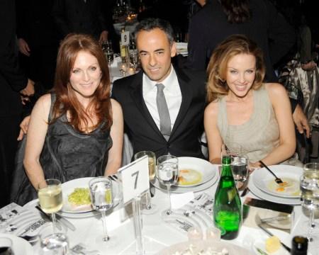 Julianne Moore, Francisco Costa, Kylie Minogue