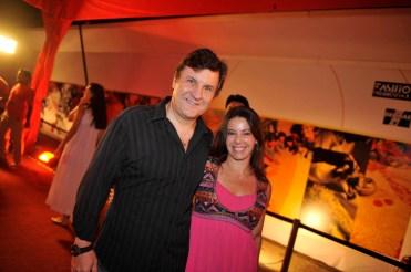 Antonio Calloni and Ilse Rodrigues Garro