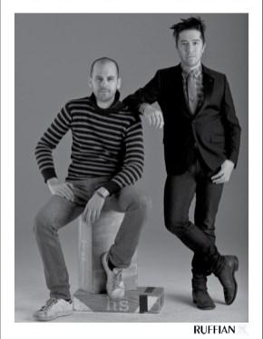 Brian Wolk and Claude Morais of Ruffian