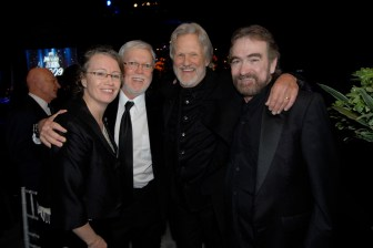 Tamara Saviano, Billy Swan, Kris Kristofferson and Donnie Fritts