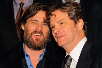 Jim Carrey and Colin Firth