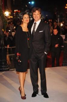 Colin Firth; Livia Giuggioli