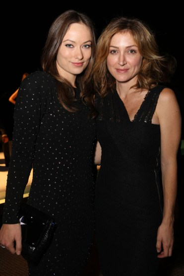 Olivia Wilde and Sasha Alexander