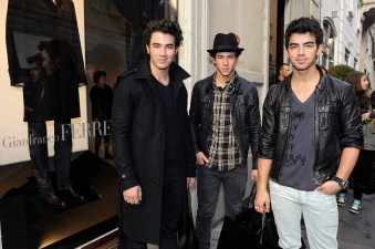 Joe, Nick and Kevin of Jonas Brothers
