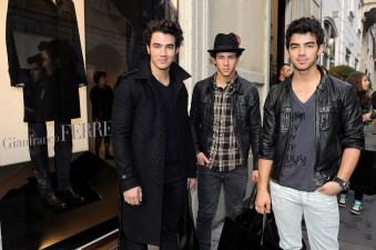 Joe, Nick and Kevin of Jonas Brothers