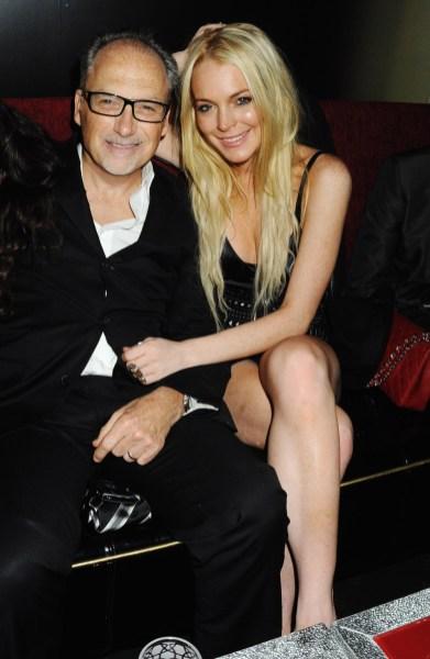 Jerry Inzerillo; Lindsay Lohan