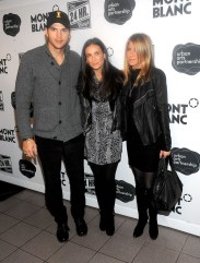 Ashton Kutcher; Demi Moore; Jennifer Aniston